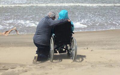 Met de wind in de rug naar naar de zee …