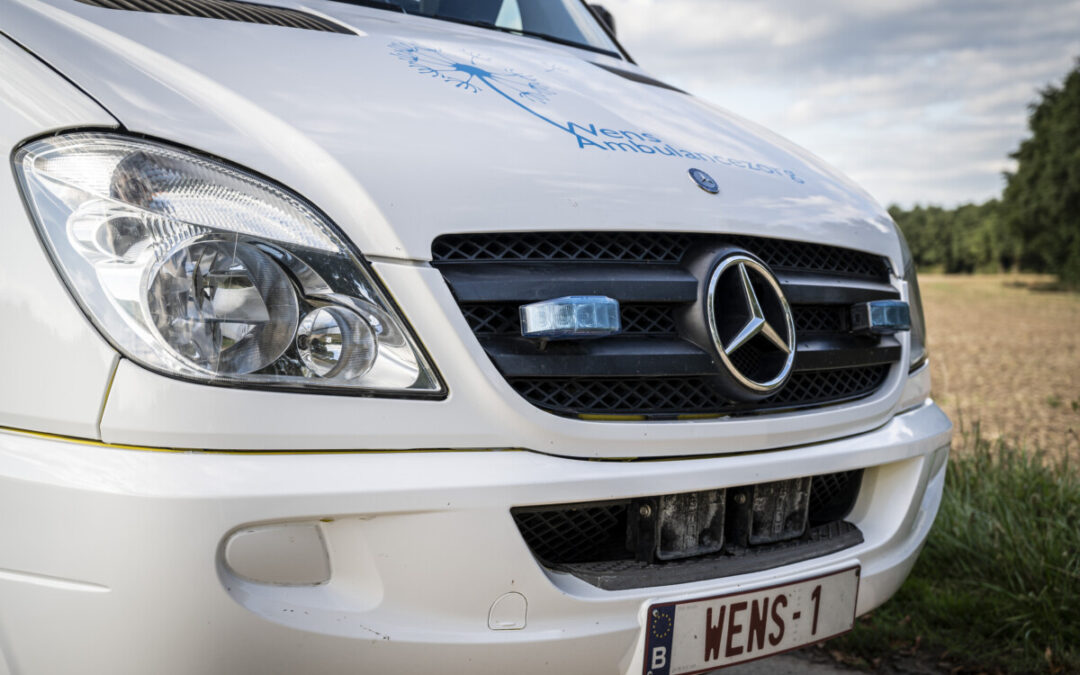 Heb jij onze WENS-1 zien voorbij rijden op VTM?
